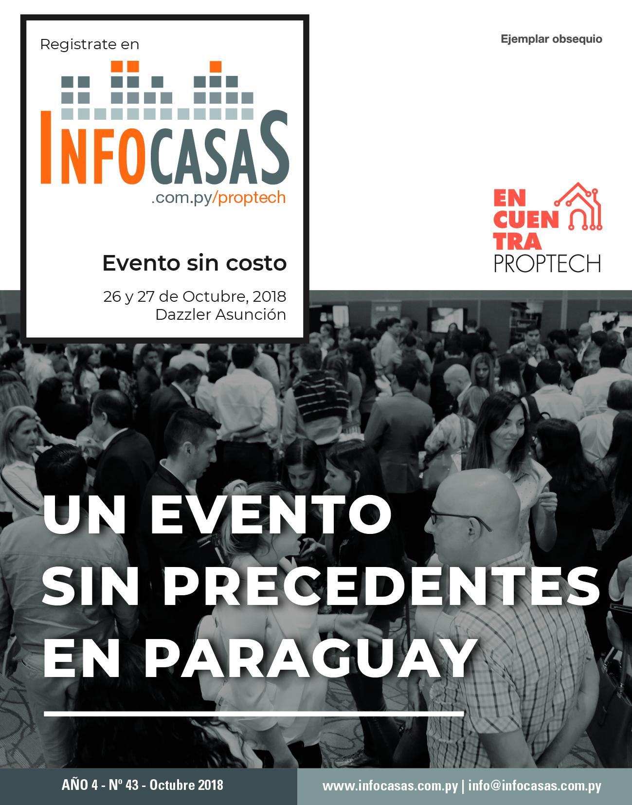 Revista InfoCasas, Número 43, Octubre 2018