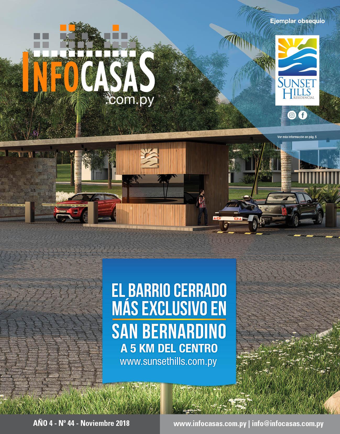 Revista InfoCasas, Número 44, Noviembre 2018