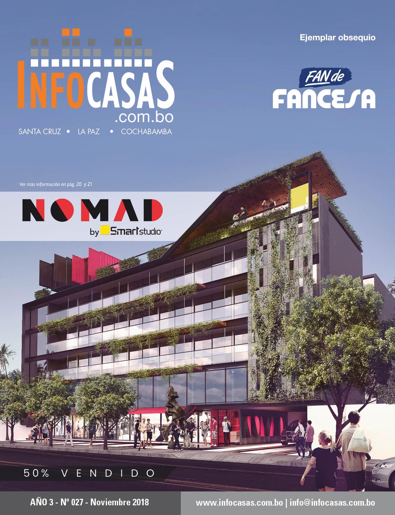 Revista InfoCasas, Número 27, Noviembre 2018