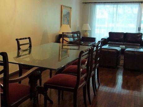 Punta Carretas 3 Dormitorios De Categoría Cerca Rambla Con Muebles Gje