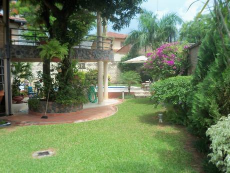 Alquilo Elegante Mansión Amoblada De 4 Dormits  Zona Super Casa Rica Molas Lopez