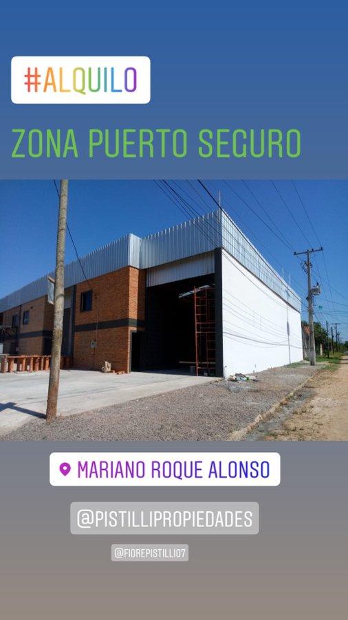 ALQUILO A-066 Depósito a Estrenar Zona Puerto Seguro