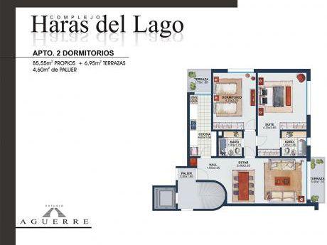 2 Dormitorios En Haras Del Lago