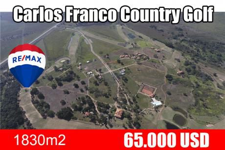 Terreno En Carlos Franco Country Golf