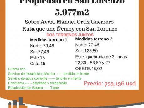 San Lorenzo 5.977m2