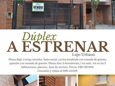 Duplex A Estrenar En Fndo De La Mora Zn