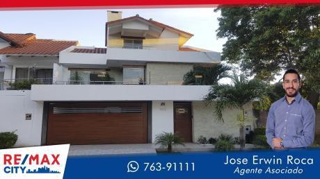 Preciosa Casa En Av. La Barranca (2do Y 3er Anillo)