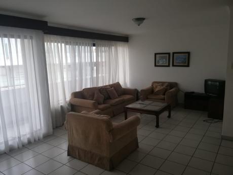 Departamento 2 Dormitorios Amoblado Y Equipado