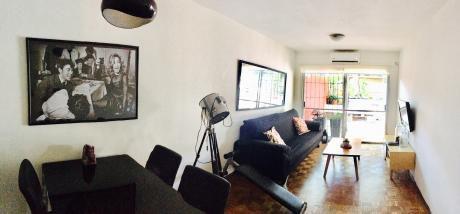 Apartamento 2 Dormitorios, 1 Baño, Garaje, Patio, Cordón