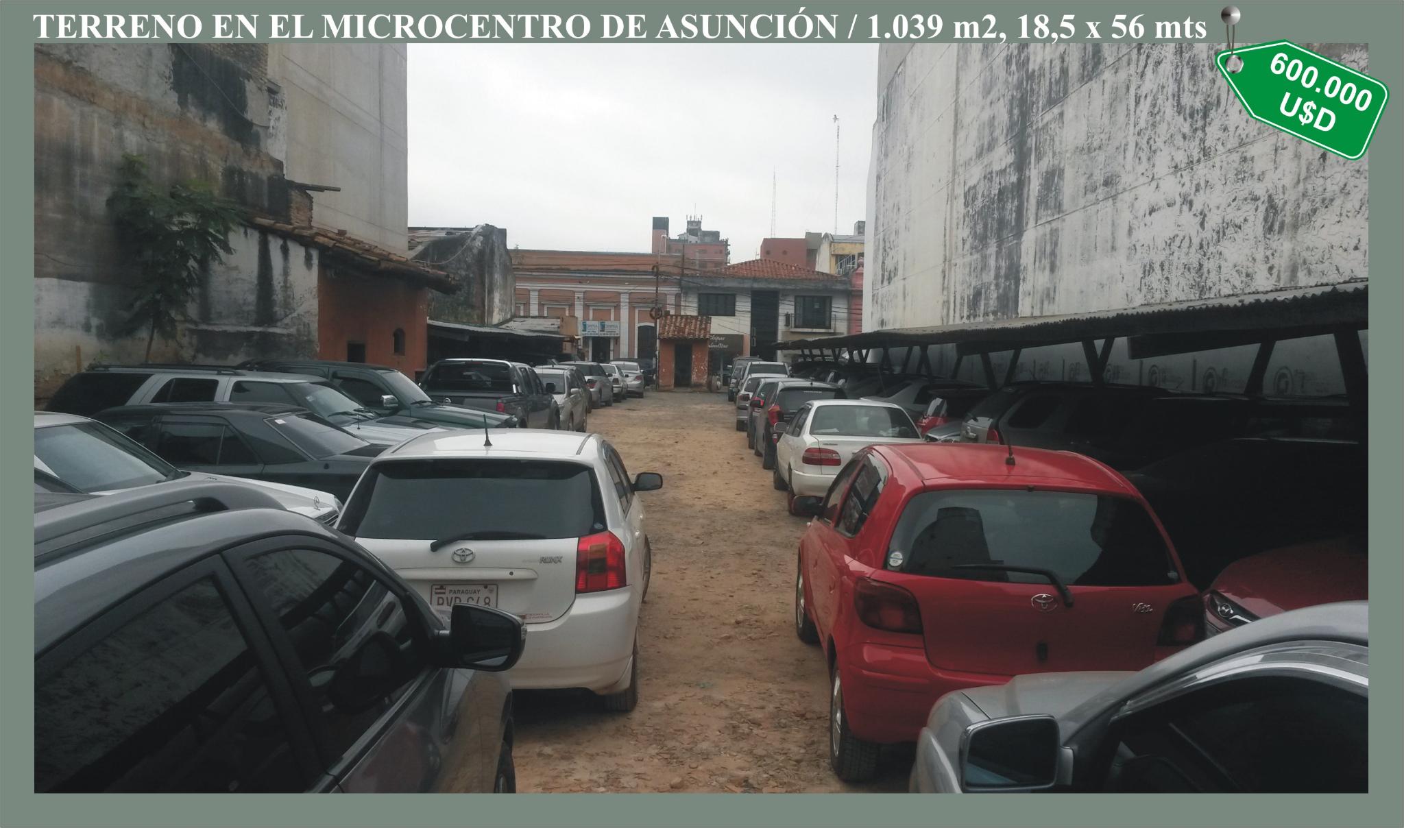 0052 Terreno En El Centro De Asunción
