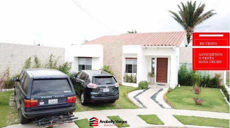 Hermosa Casa En Venta Zona Urubo