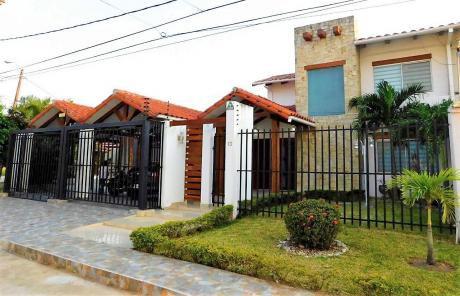 Hermosa Casa En Anticretico Con Opción A Venta En Urubó - Villa Bonita