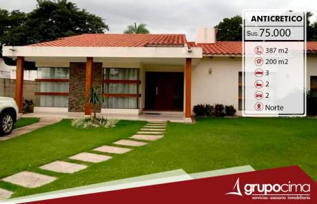 Casa En Anticretico En Condominio !!