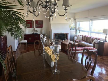 Venta Apartamento De 4 Dormitorios Y Garaje Doble En Punta Carretas