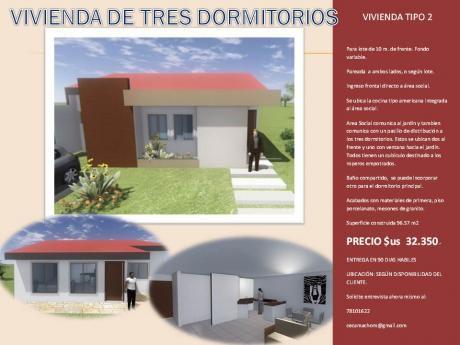Casa De 2 Dormitorios Construimos
