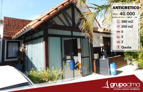 Amplia Y Hermosa Casa En Anticretico !!