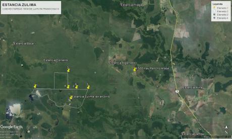 Oferta!! Vendo Campo De 2.200 Hectareas - Chaco Paraguayo