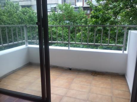 Pocitos 1 Dormitorio Alquiler Cocina Definida, Terraza Lavadero