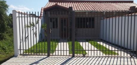 Alquilo Duplex De 2 Dormitorios En Lambare Zona Sek Con Amplio Patio