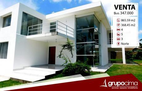 Casa De Lujo En Venta En Urubo 347.000 !!!