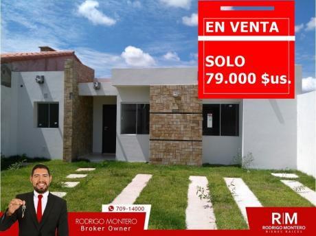 Hermosa Casa A Estrenar !! Zona Norte Av. Banzer 79.000 $us.