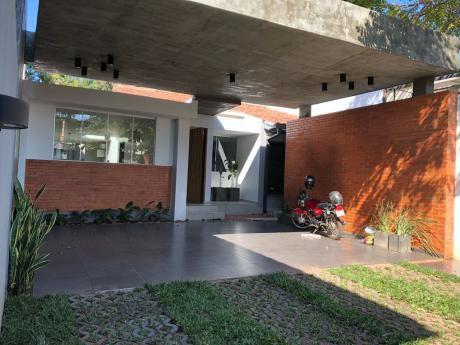 Alquilo Residencia De Una Sola Planta En Villa Morra