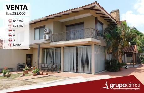 Amplia Y Lujosa Casa En Venta 385.000 $us