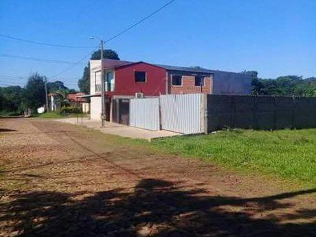 Vendo Terreno Sobre Empedrado En Villa Elisa