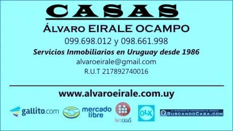 Oferta: U50442 85.000= 2 Casas En Esquina Ideal 2 Familias