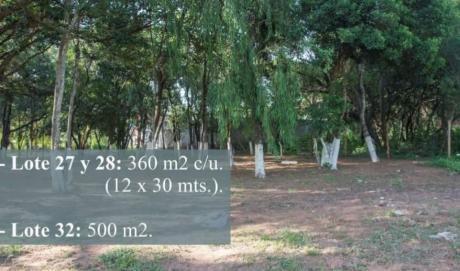 Vendo Terrenos En Lambaré, Zona Carretera De López