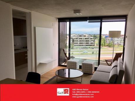 Apartamento Equipado En Alquiler De 1 Dormitorio En Carrasco