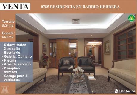 0785 Residencia En Barrio Herrera