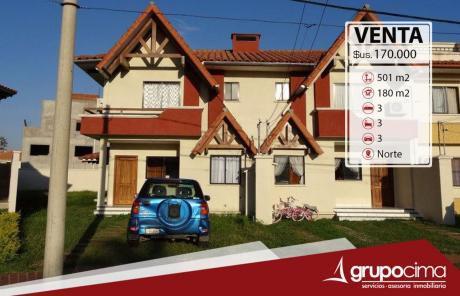 Casa En Condomino Z/ Norte El Remanso 170.000 $us.