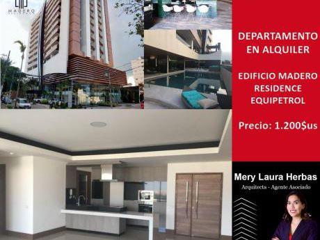 En Alquiler Departamento En Condominio Madero Residences