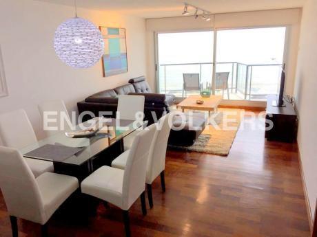 Apartamento Amueblado 2 Dormitorios En Rambla De Malvin