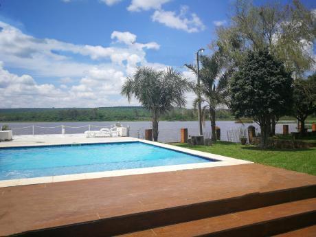 Alquilo Casa En Sanber Al Borde Del Lago Con Piscina