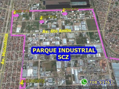 Venta 4 Terrenos Y Galpones - Parque Industrial Scz!