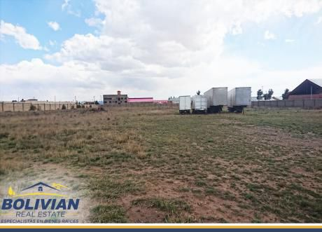 Excelente Terreno En Venta De 20.000m2 En Av. Zona Franca Del El Alto