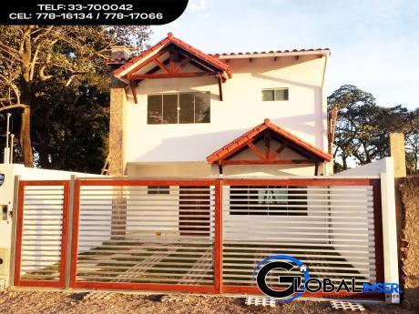Pre-venta Casas Gemelas Zona Norte Av. Banzer 7mo Anillo