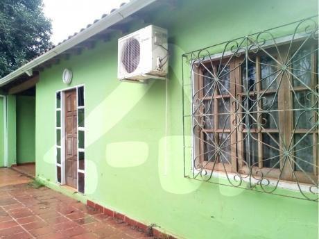 Alquilo Casa Independiente En El Km 8 Gs. 1.500.0000