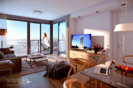 Nostrum Bay ~ Apartamentos De 1 Dormitorio Con Amplios Espacios Y Terraza. Pisos Altos Con Vista Panorámica.