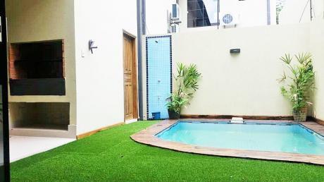 Alquilo Precioso Duplex A Estrenar Con Piscina En El Barrio Mburucuya.