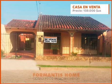Casa De Una Planta En Venta Barrio Petrolero Sur, 2do Anillo.