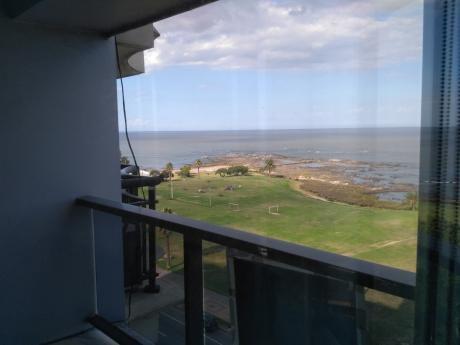 Piso Alto Vista Al Mar, Amueblado