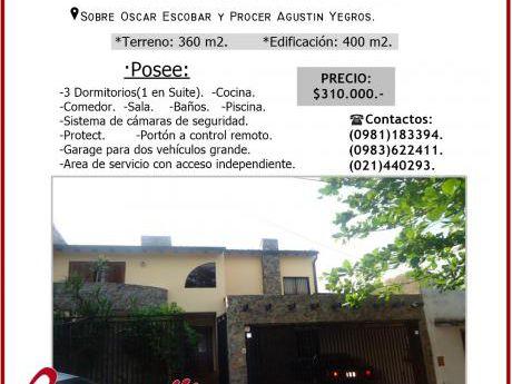 Vendo Casa En Barrio Los Mangales!