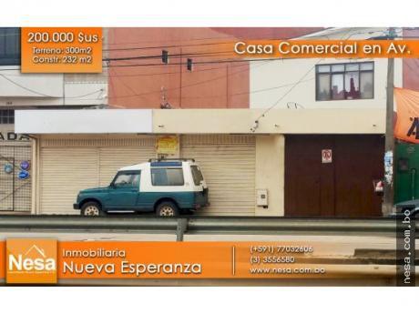 Nesa Vende Casa Comercial, Sobre La Av. Radial 13