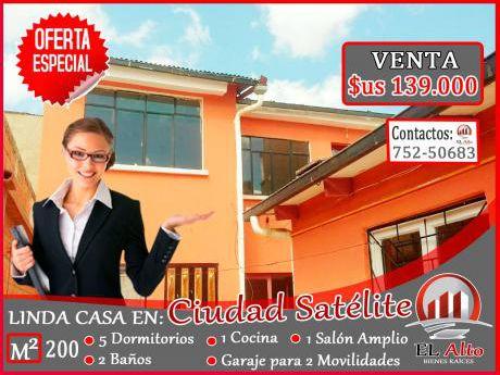 Se Vende Linda Casa En Ciudad Satelite