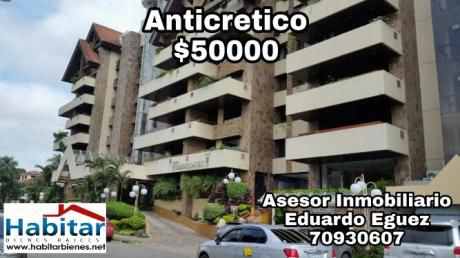 Anticretico Totalmente Amoblado Hotel Yotau 2 Dormitorios