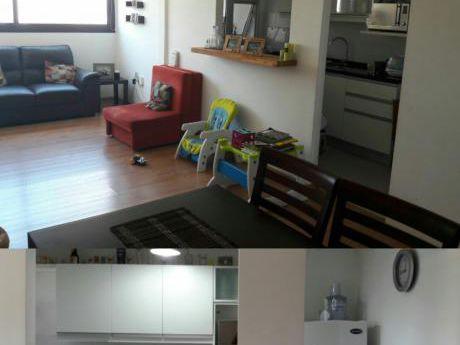 Apartamento De Dos Dormitorios Sobre Av Italia, Nuevo.