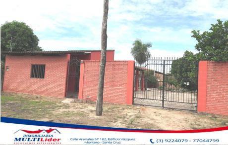 Económica Casa En Venta En Montero